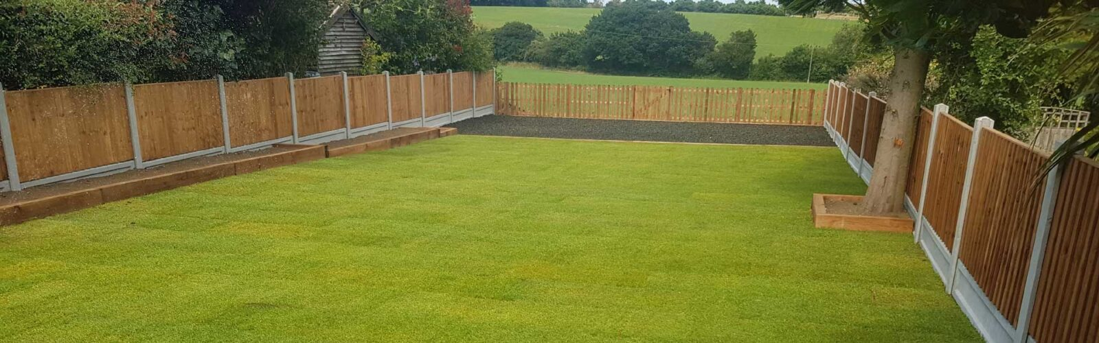 Essex Grass Landscaping Fencing